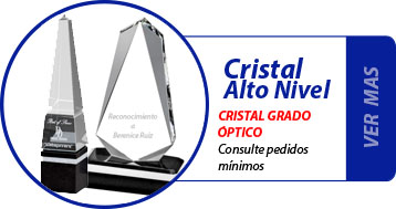 Trofeos Cristal Personalizado