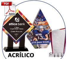 Trofeos Acrílico Importacion
