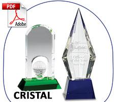 Trofeos Cristal Importacion