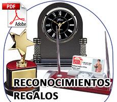 Trofeos Regalos y Reconocimientos Importacion