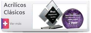 Trofeos de Acrílico Formas Clásicas