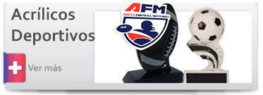 Trofeos de Acrílico Deportivos