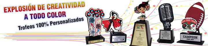 Trofeos Personalizados a todo color