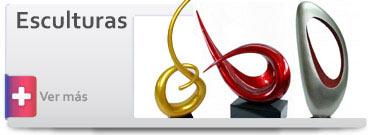 Trofeos y Esculturas Abstractas