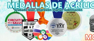 Trofeos Medallas de Acrílico