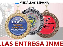 Trofeos Medallas Entrega Inmediata