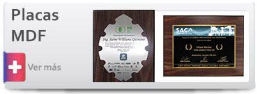 Trofeos Placas conmemorativas