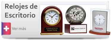 Trofeos Relojes de Escritorio