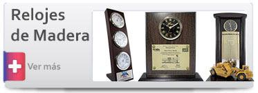 Trofeos Relojes de Madera
