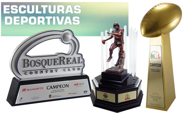 TROFEOS ESCULTURAS DEPORTIVAS