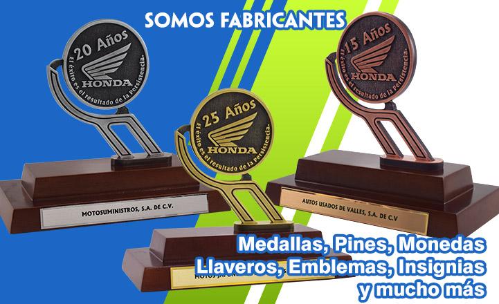 TROFEOS FUNDICION DE METALES