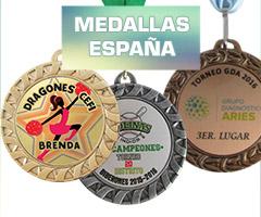 TROFEOS MEDALLAS DE LINEA ESPAÑA