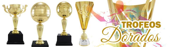 Trofeos Dorados para todos los deportes